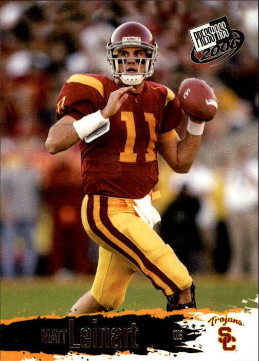 2006 Press Pass #4 Matt Leinart front image