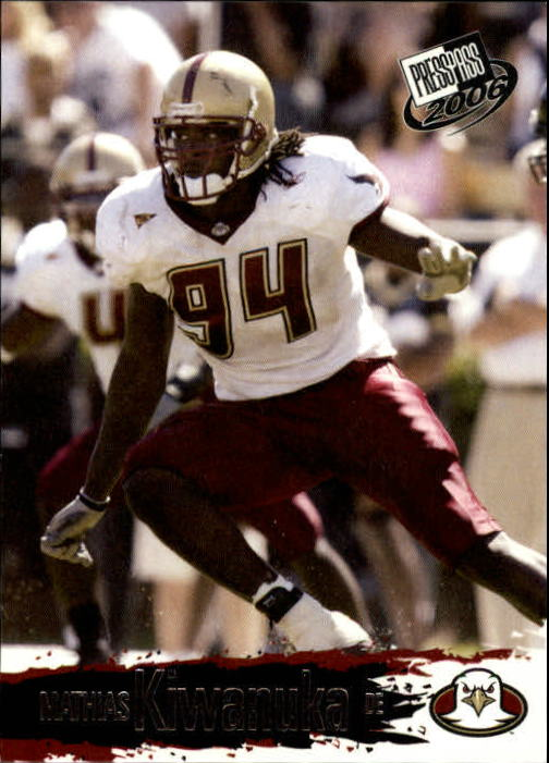 2006 Press Pass #36 Mathias Kiwanuka