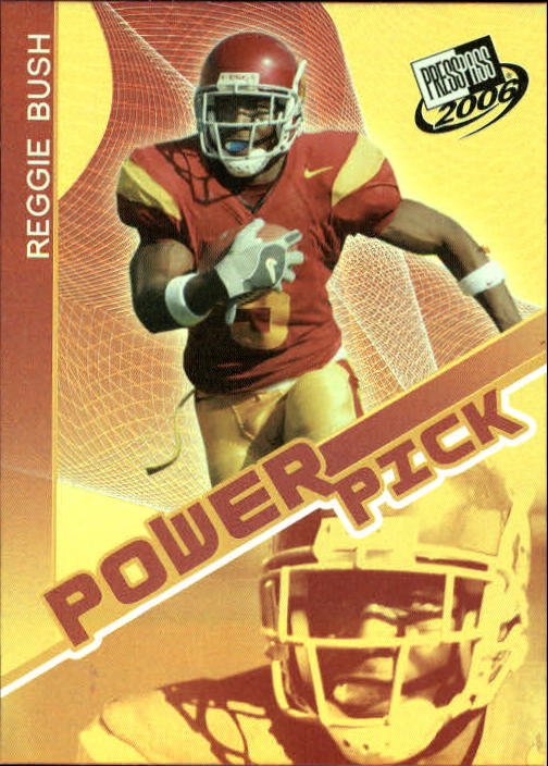 2006 Press Pass #46 Reggie Bush PP