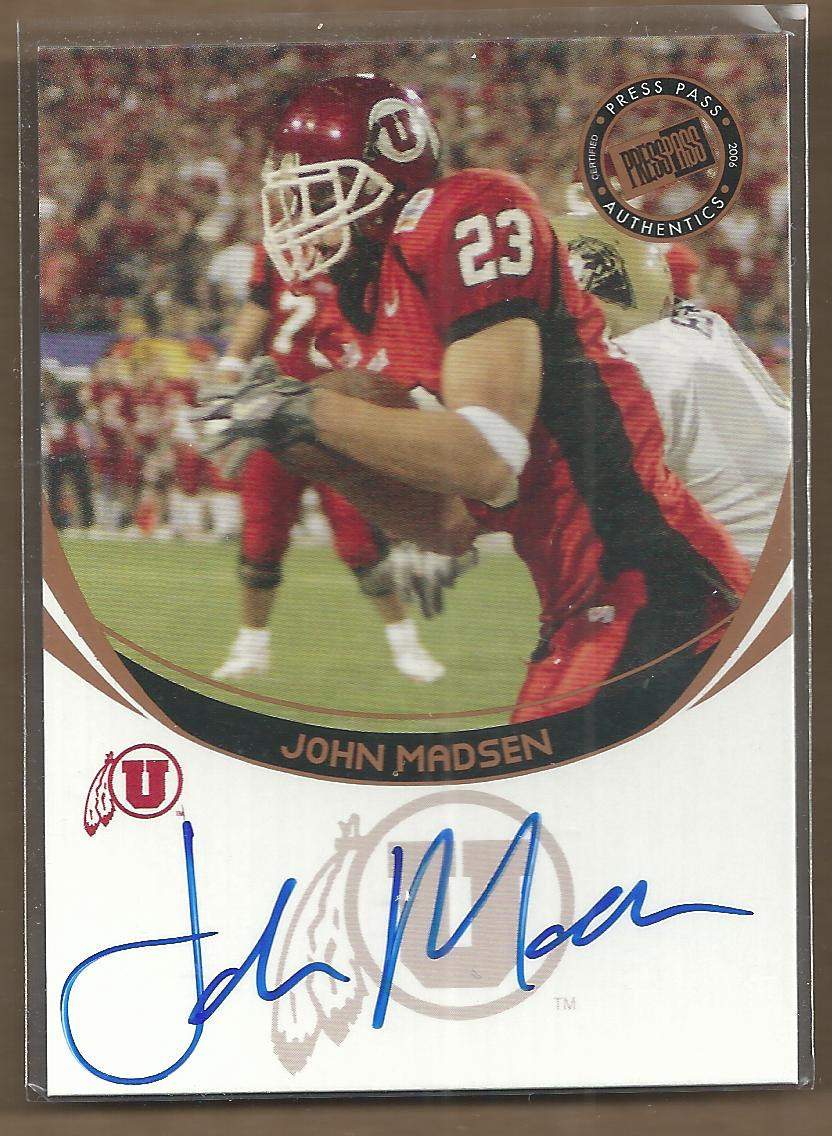 2006 Press Pass Autographs Bronze #44 John Madsen
