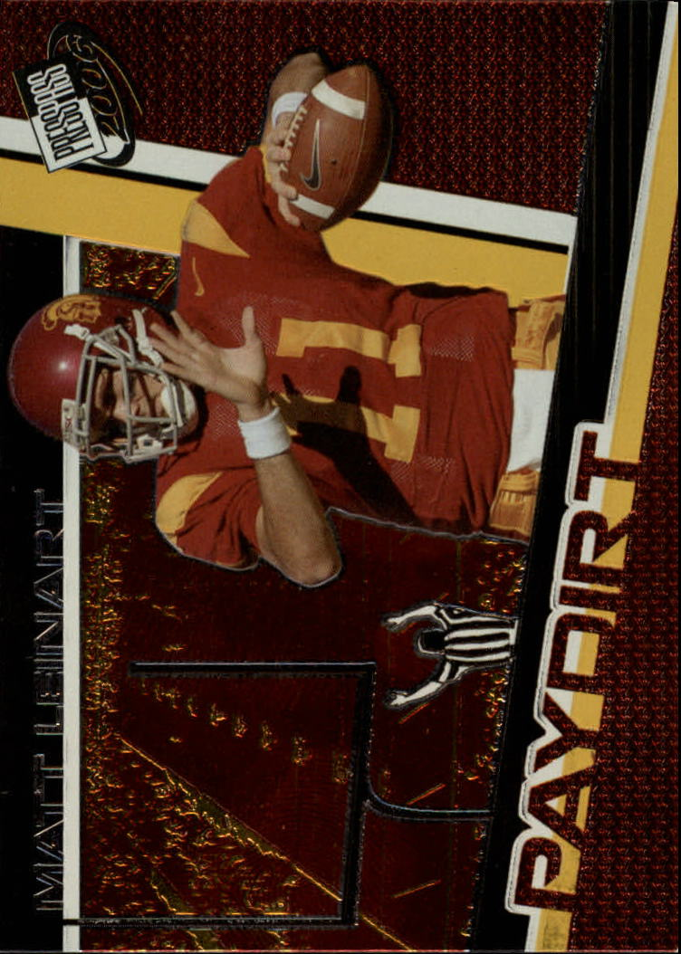 2006 Press Pass Paydirt #PD2 Matt Leinart