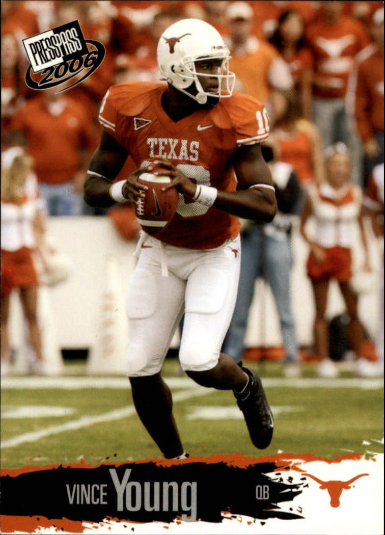 2006 Press Pass Target Exclusive #9B Vince Young