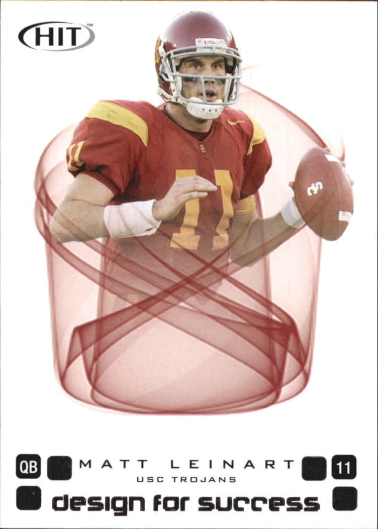 2006 SAGE HIT Design for Success Silver #D11 Matt Leinart