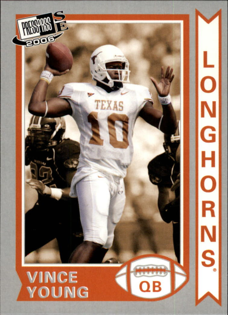 2006 Press Pass SE Old School #OS21 Vince Young