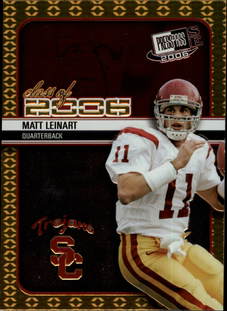 2006 Press Pass SE Class of 2006 #CL5 Matt Leinart