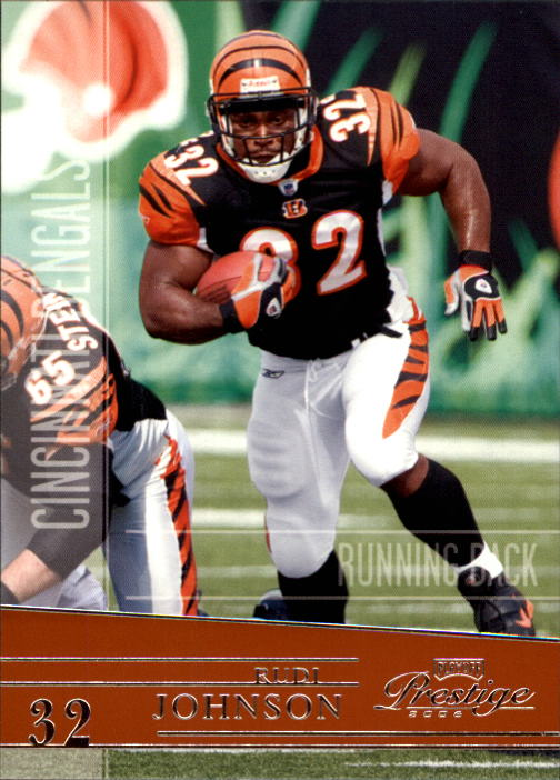 2006 Playoff Prestige #33 Rudi Johnson