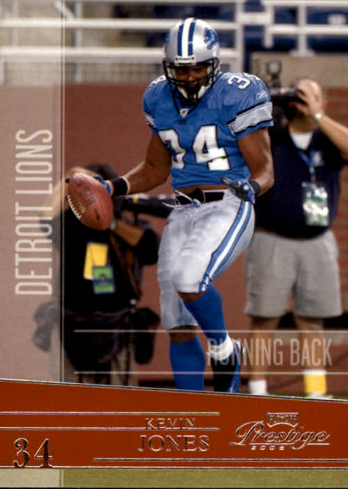 2006 Playoff Prestige #52 Kevin Jones