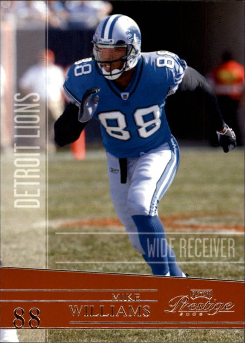 2006 Playoff Prestige #53 Mike Williams