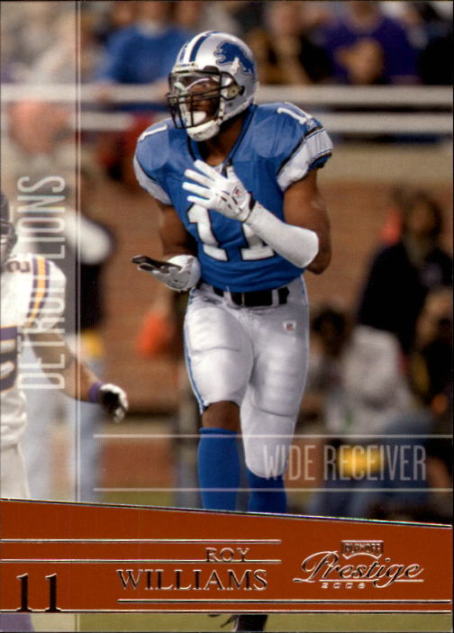 2006 Playoff Prestige #54 Roy Williams WR