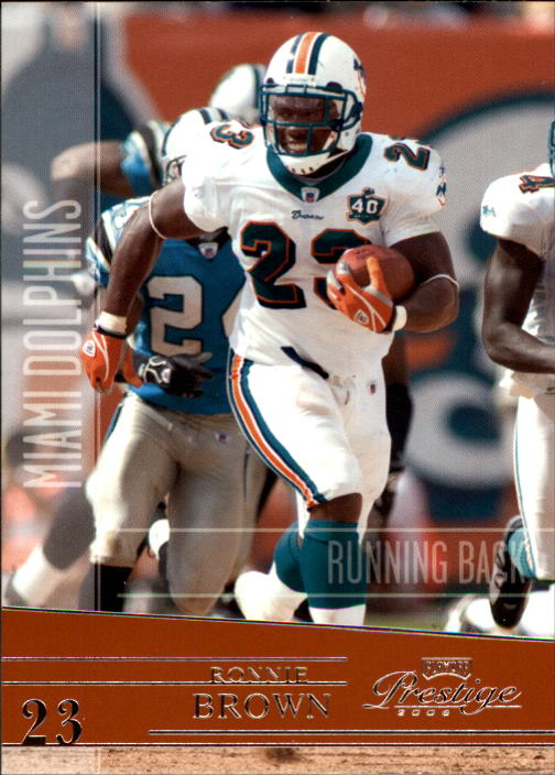 2006 Playoff Prestige #85 Ronnie Brown