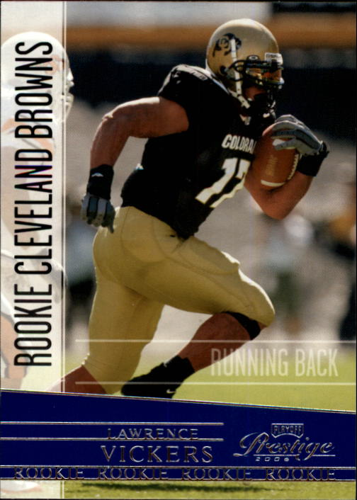 2006 Playoff Prestige #214 Lawrence Vickers RC