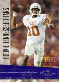 2006 Playoff Prestige #246 Vince Young RC
