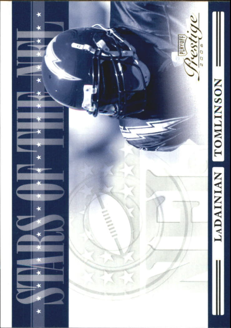 2006 Playoff Prestige Stars of the NFL #1 LaDainian Tomlinson