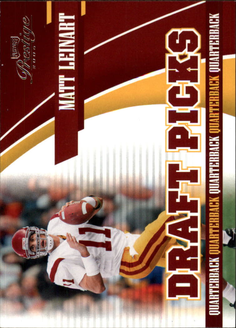 2006 Playoff Prestige Draft Picks #2 Matt Leinart