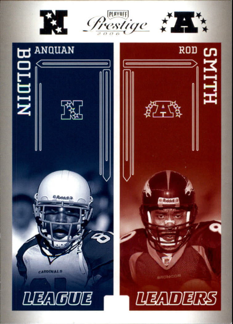 2006 Playoff Prestige League Leaders #12 Anquan Boldin/Rod Smith