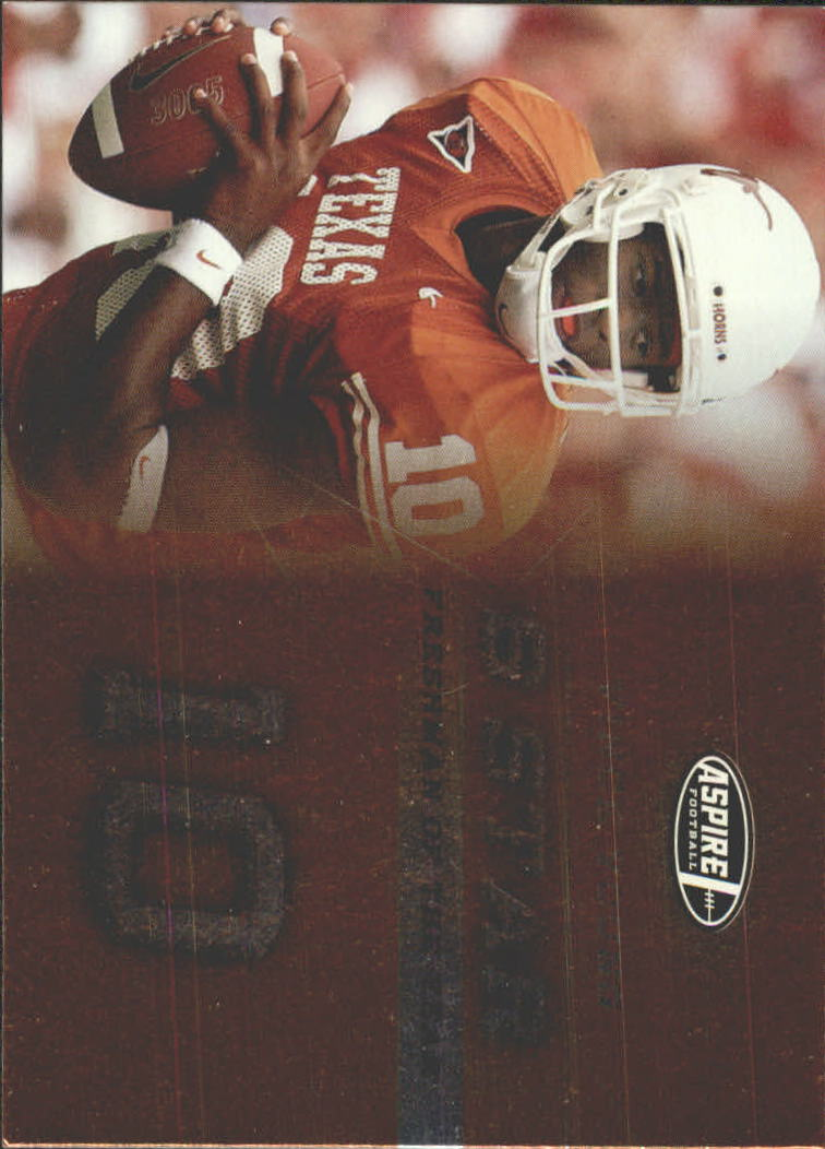 2006 Aspire 5 Star #FS22 Vince Young