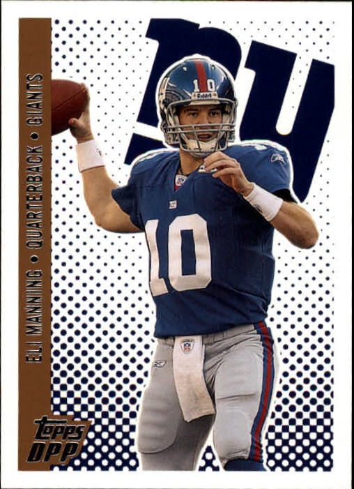 2006 Topps Draft Picks and Prospects #16 Eli Manning