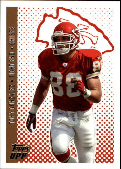 2006 Topps Draft Picks and Prospects #39 Tony Gonzalez