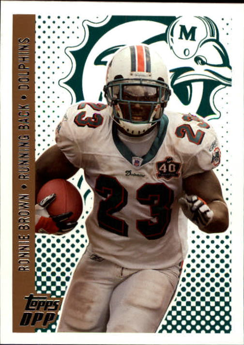 2006 Topps Draft Picks and Prospects #70 Ronnie Brown