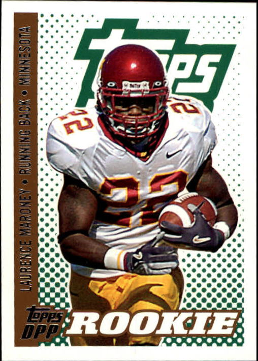 2006 Topps Draft Picks and Prospects #119 Laurence Maroney RC