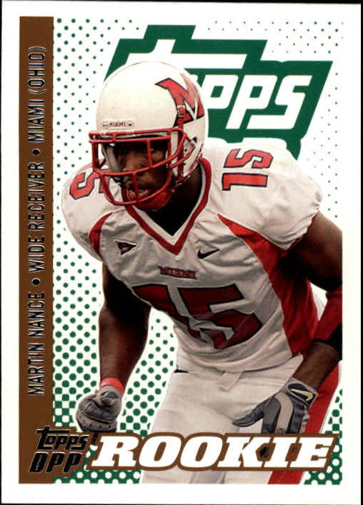 2006 Topps Draft Picks and Prospects #120 Martin Nance RC