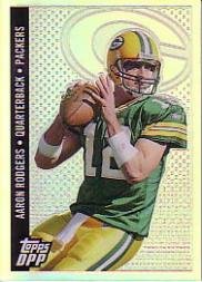 2006 Topps Draft Picks and Prospects Chrome Black Refractors #64 Aaron Rodgers