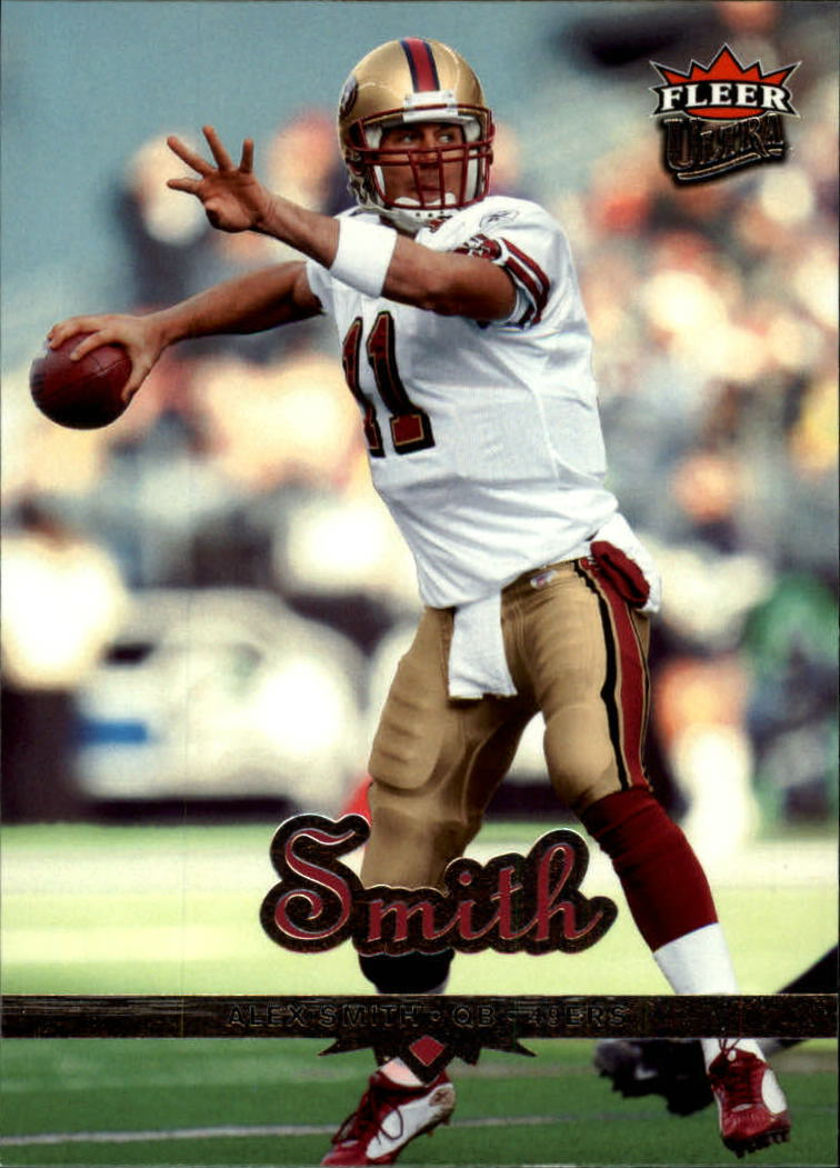 2006 Ultra #164 Alex Smith