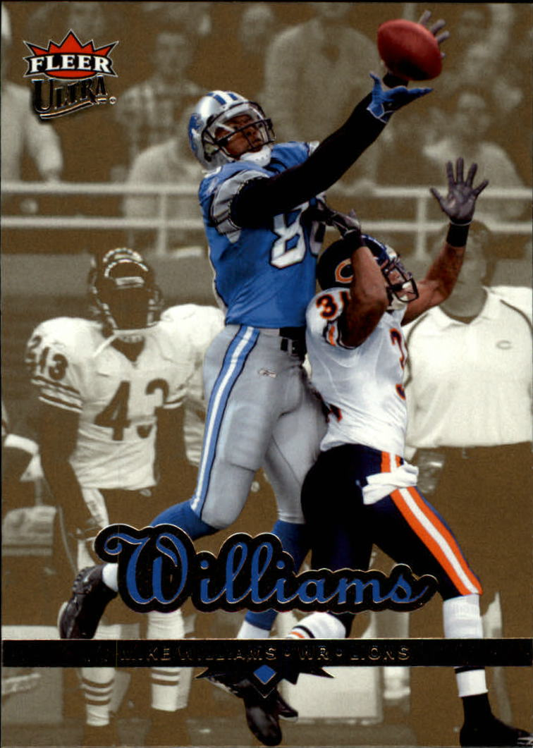 2006 Ultra Gold Medallion #67 Mike Williams