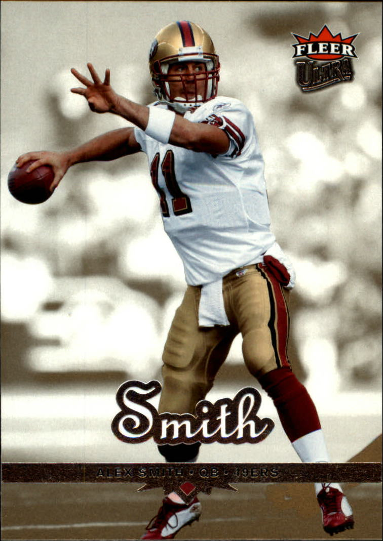2006 Ultra Gold Medallion #164 Alex Smith