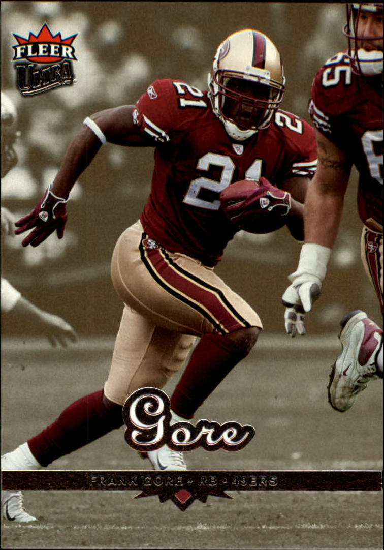 2006 Ultra Gold Medallion #166 Frank Gore