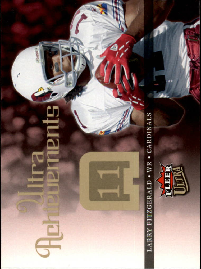 2006 Ultra Achievements #UALF Larry Fitzgerald