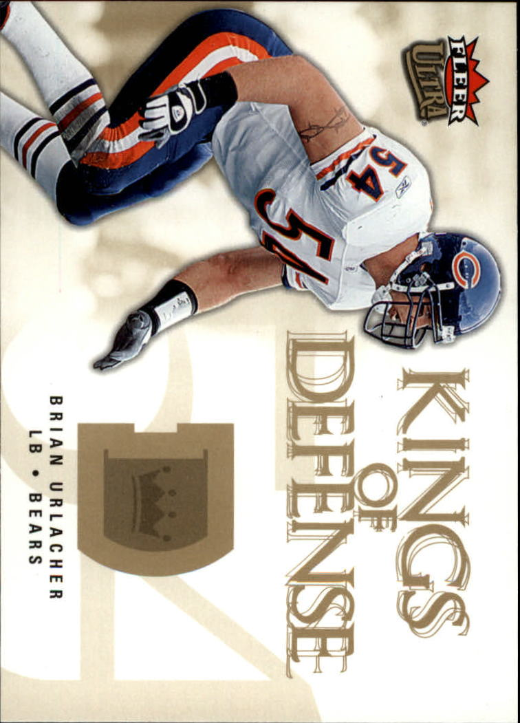2006 Ultra Kings of Defense #KDBU Brian Urlacher