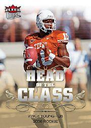 2006 Ultra Head of the Class #HCVY Vince Young