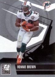 2006 Donruss Elite #53 Ronnie Brown