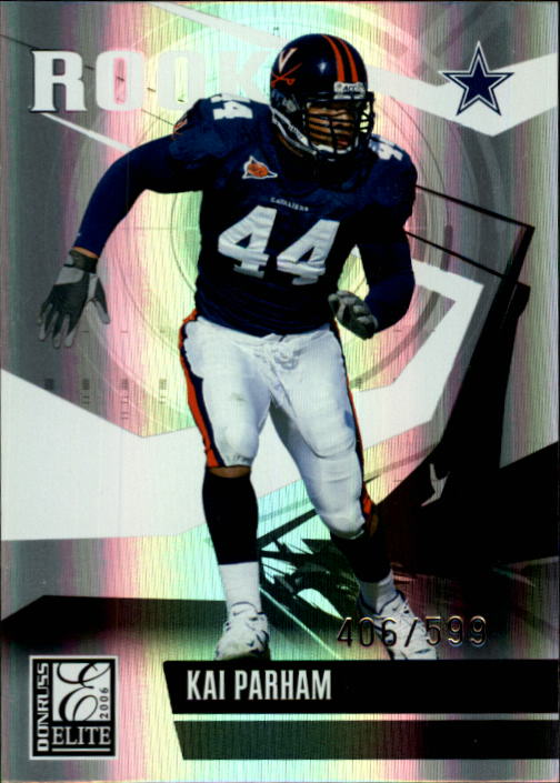 2006 Donruss Elite #174 Kai Parham RC