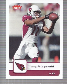 2006 Fleer #2 Larry Fitzgerald