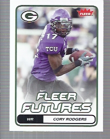 2006 Fleer #122 Cory Rodgers RC