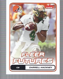 2006 Fleer #125 Darrell Hackney RC