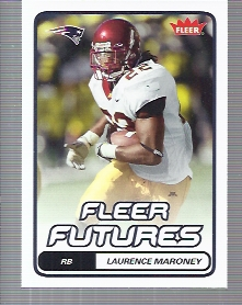 2006 Fleer #160 Laurence Maroney RC