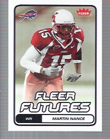 2006 Fleer #170 Martin Nance RC