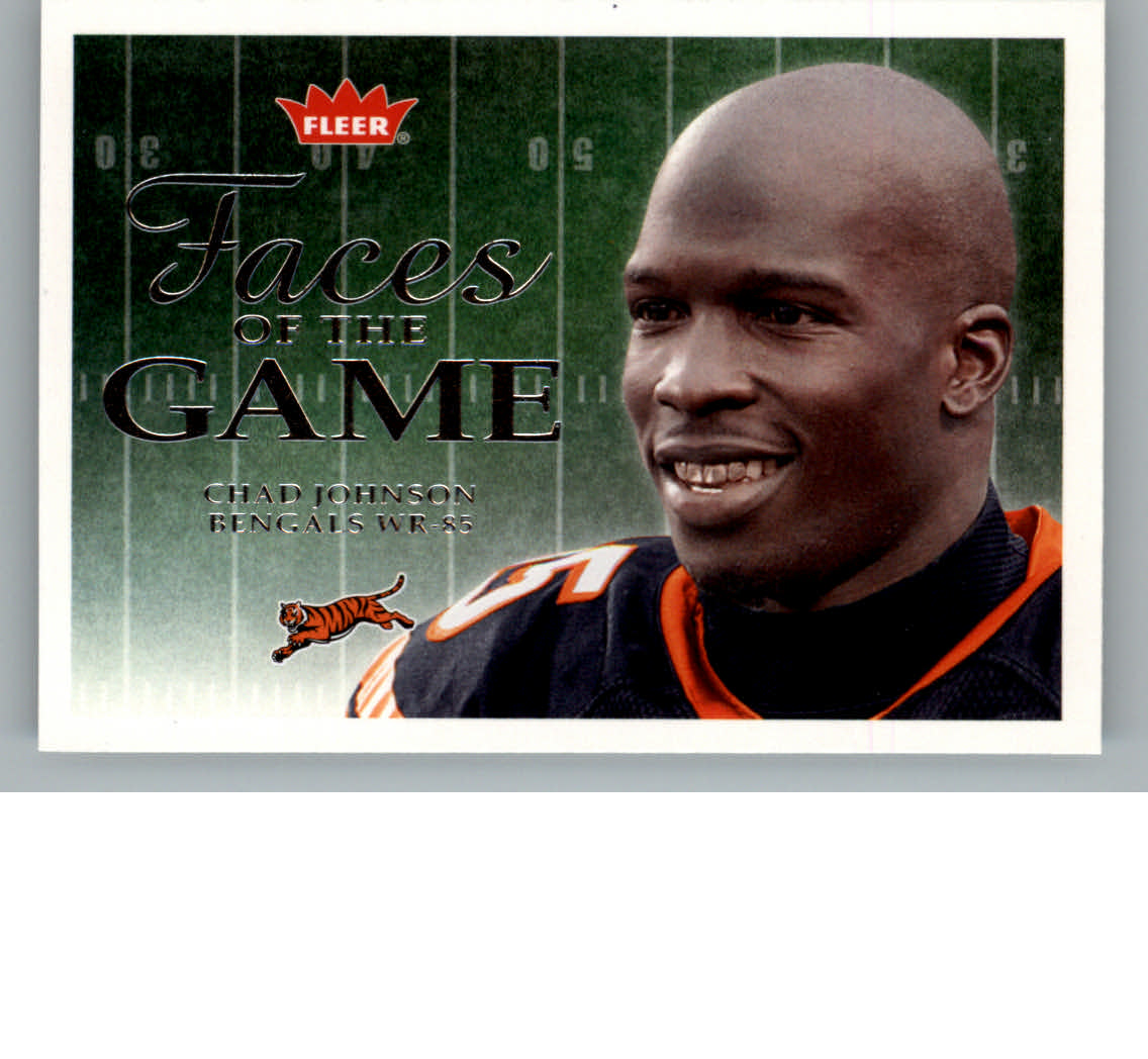 2006 Fleer Faces of the Game #FGCJ Chad Johnson