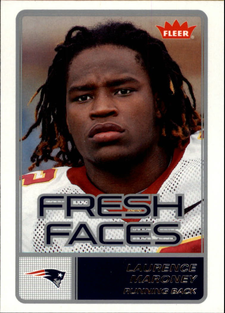 2006 Fleer Fresh Faces #FRLM Laurence Maroney
