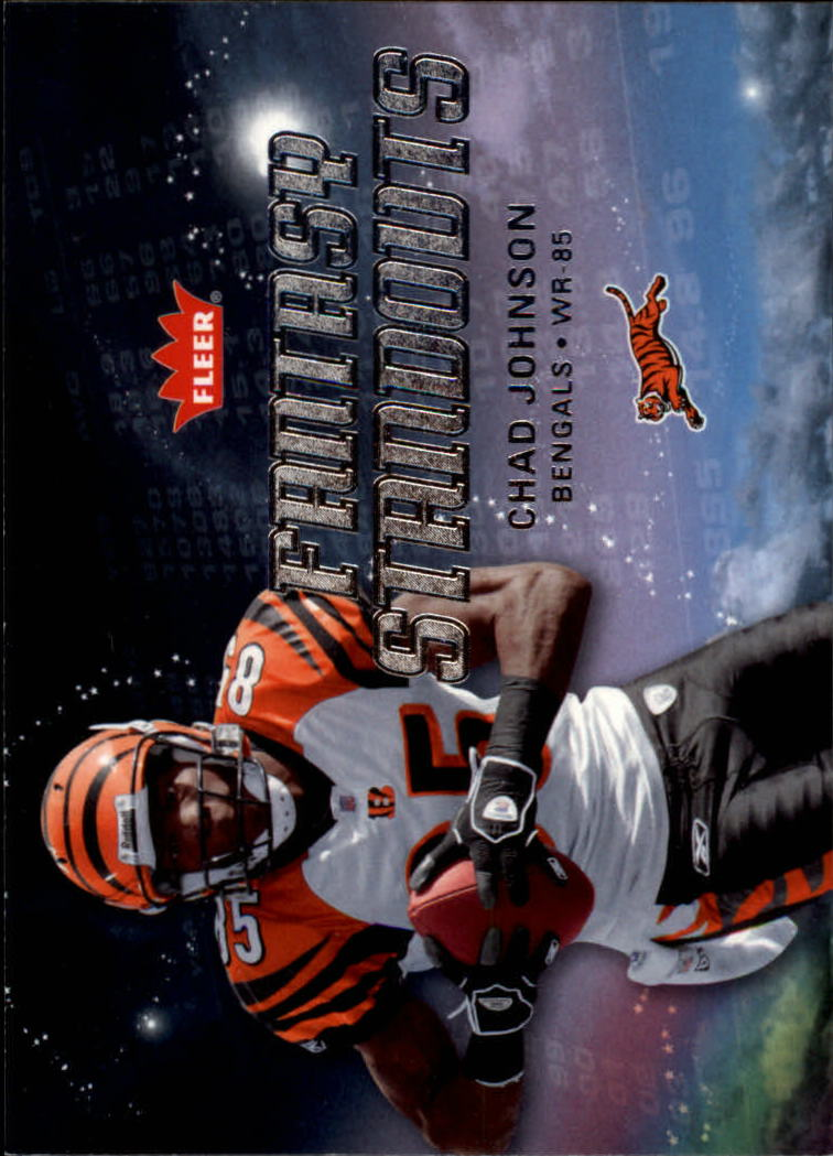 2006 Fleer Fantasy Standouts #FSCJ Chad Johnson