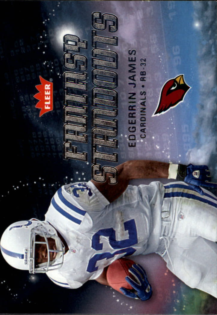 2006 Fleer Fantasy Standouts #FSEJ Edgerrin James