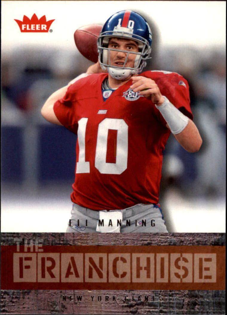 2006 Fleer The Franchise #TFEM Eli Manning