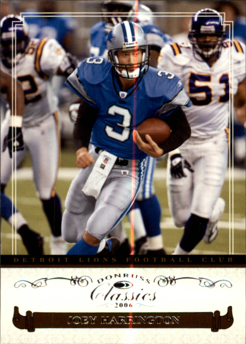 2006 Donruss Classics #34 Joey Harrington