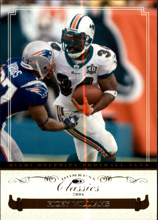 2006 Donruss Classics #55 Ricky Williams