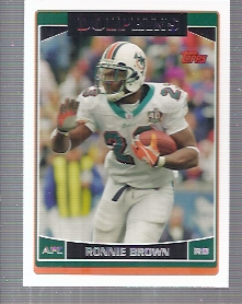 2006 Topps #137 Ronnie Brown