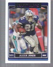 2006 Topps #176 Julius Jones