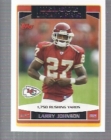 2006 Topps #285 Larry Johnson LL front image